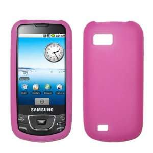 Premium Hot Pink Silicone Gel Skin Cover Case for Samsung