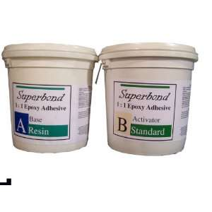 Epoxy Superbond Resin Kit, 1:1, 2 Gallon, Slow Cure, Ideal for Glueing