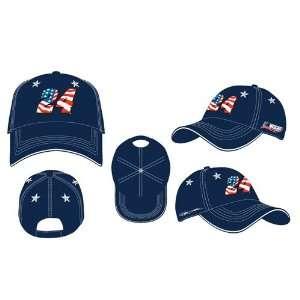 #24 Jeff Gordon Patriotic Navy Blue Mens Nascar Hat