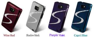 Swarovski Bling Crystal Luxury Hard Case Cover for SAMSUNG GALAXY S 2