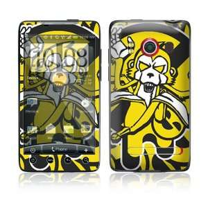 Monkey Banana Protective Skin Cover Decal Sticker for HTC