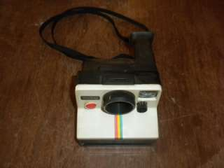 POLAROID LAND CAMERA ONESTEP RAINBOW STRIPE SX 70 ^