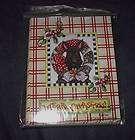 MARY ENGELBREIT CHRISTMAS SCOTTIE DOG/WREATH NOTECARDS