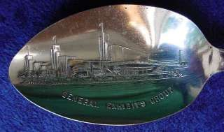 1933 Chicago Worlds Fair Exhibits Group Rodgers Silver Spoon