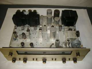 VINTAGE FISHER 500 B FM STEREO TUBE AMP RECEIVER 7591A PP