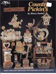 TOLE PAINTING PATTERNS COUNTRY PICKINS SHERRY GUNTER
