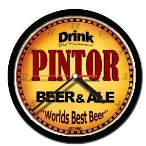 PINTOR beer and ale cerveza wall clock: Everything Else