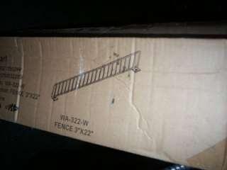 Metal Retail Shelf Divider white 3x22 gondola new 10