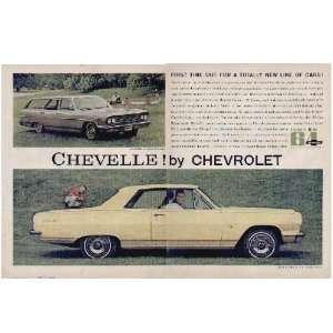 CHEVELLE by Chevrolet. 64 Malibu Super Sport Coupe And 64 Chevelle