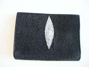 Leather Passport Holder/Wallet, Stingray Iphone/Passport Holder Wallet