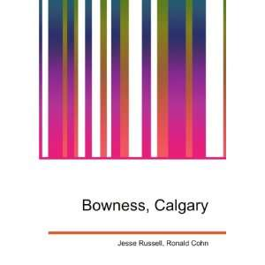 Bowness, Calgary Ronald Cohn Jesse Russell Books