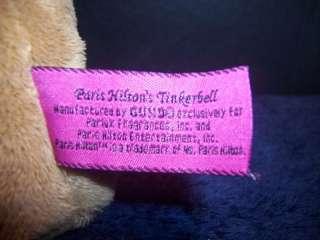 Gund Plush Paris Hilton Tinkerbell Chihuahua Stuffed