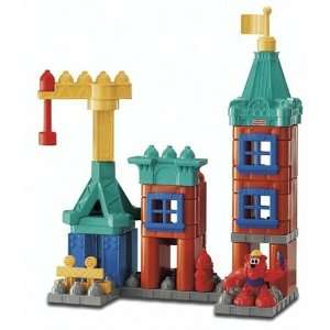 Pop Onz Building System   Build n Stack City Toys & Games