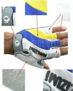 2012 New Cycling Bike Bicycle half finger gloves Antiskid Antiwear