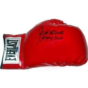 Jake LaMotta Autographed Raging Bull Boxing Glove Sports