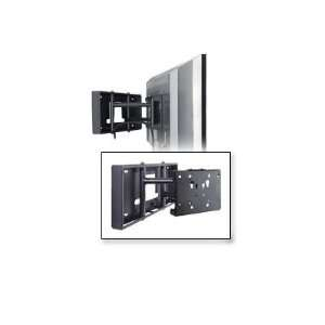 FLAT PANEL PULL OUT SWIVEL WALL MOUNT BLACK For Screen Sizes 26in To