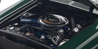 72813 118 1968 FORD MUSTANG GT BULLITT STEVE MCQUEEN DIECAST MODEL