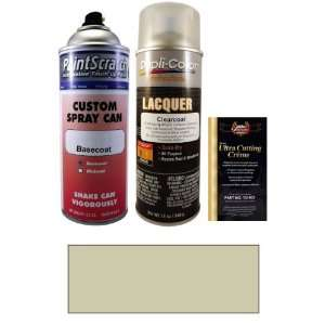 12.5 Oz. Parchment Silver Metallic Spray Can Paint Kit for 2007 Saab 9