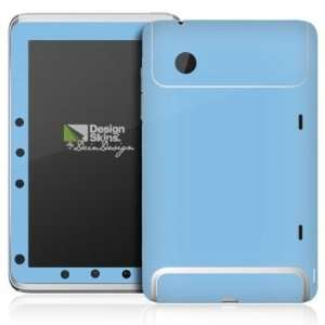 Design Skins for HTC Flyer   Azurblau Design Folie