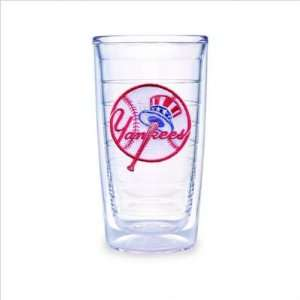 New York Yankees (Home Jersey) Set of TWO 16 oz. Tervis