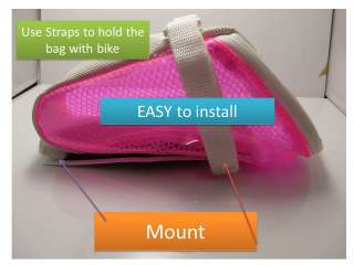 NEW Original H2O Bicycle Bike Saddle Bag 108g Seat Bags Fixed Gear