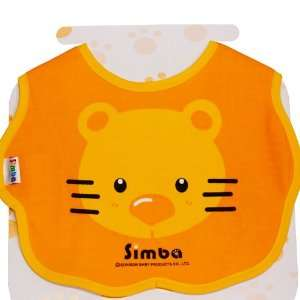 Baby Simba Lion 100% Pure Cotton Large Premium Logo Waterproof Bib