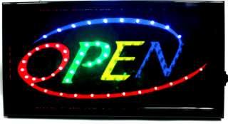 BRIGHT LED Open,Cafe,Coffee,Bar,Pub,Club Neon SIGN ANIMATE New Design