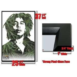 Framed Bob Marley Ganja Portrait Poster 31175