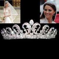 Replica Kate & William Royal Wedding Hair Crown Tiara w/ Swarovski