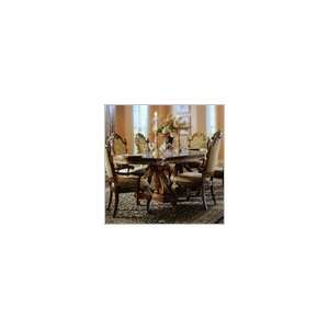 Pulaski Royale Pedestal Formal Dining Table in Rich Cherry