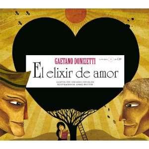 amor (con CD) (9788493666705) Adria Fruitos GAETANO DONIZETTI Books