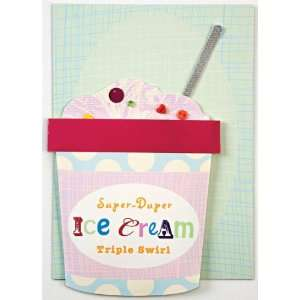 Meri Meri Ice Cream Tub Invitations 8 Count