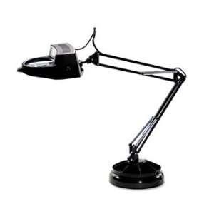 Ledu Full Spectrum Magnifier Desk Lamp Black 30in High