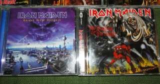 Iron Maiden 8 CD Lot Excellent