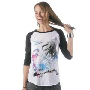 FOX Racing Juniors 54716 STARDUST Baseball Tee T Shirt