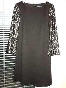 Womens Jessica Howard Gorgeous Black Lace Dress Sz 10