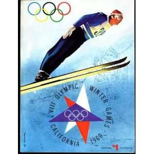 Program of the VIII Olympic Winter Games 1960 Lee Klein Books