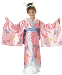Japanese Princess Kimono Geisha Child Halloween Costume