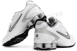 Nike Shox Reveal(+) 4 White 417103 100 New Womens Running Shoes Size 6