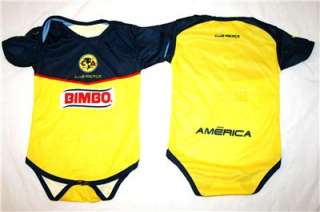 Club America Baby Toddler Infant Jersey ADD ANY NAME
