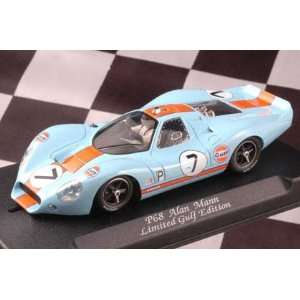 1/32 NSR Analog Slot Cars   Ford P68 Gulf   No. 7