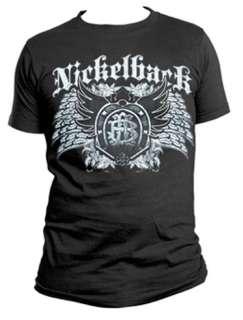 Nickelback T Shirt Dark Wings Tee