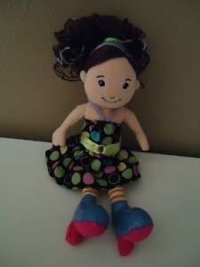 GROOVY GIRLS RAELYN 2007 MANHATTEN TOY PLUSH DOLL 13 IN