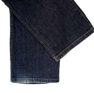 Liz Claiborne Slim Bootcut sz 10 Stretch Womens Blue Jeans Denim Pants