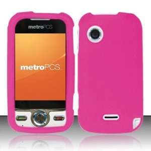 Hot Pink Soft Silicone Skin Gel Cover Case for Huawei M735