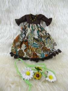 Neo Blythe Outfit Clothing Handmade Clothes Basaak Set 2 pcs dress