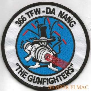 366TH TFW GUNFIGHTERS F 4 PHANTOM PATCH US AIR FORCE |