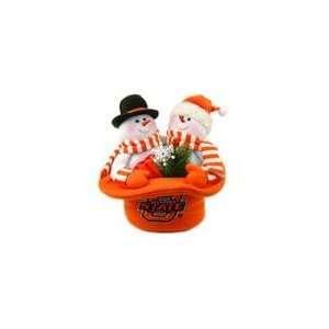 12 NCAA Oklahoma State Cowboys Snowmen Top Hat Table
