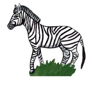 Sherri Blum Jungle Animals Small Zebra Wall Stickers