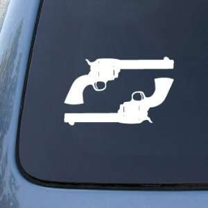 Set of 2 Guns Pistols   Car, Truck, Notebook, Vinyl Decal